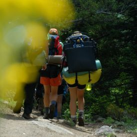 Backpacking adventure through Colorado's wilderness!