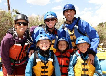 Colorado Family Rafting